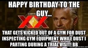 Gym Birthday Meme - happy birthday gym meme 28 images google image result for http