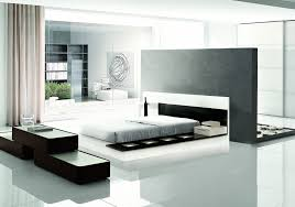 Impera ModernContemporary Lacquer Platform Bed - Contemporary platform bedroom sets