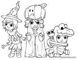 coloriage halloween à colorier dessin à imprimer halloween