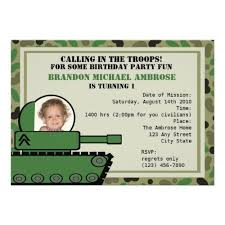 121 best military birthday party invitations images on pinterest