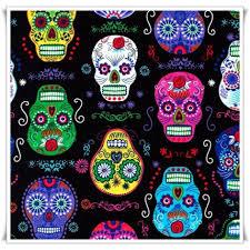 imagenes de calaveras que cambian de color tela art skulls costurika