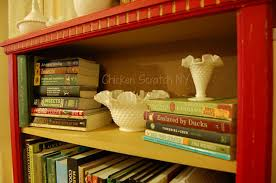 Small Red Bookcase Bookshelf Ideas 25 Diy Bookcase Makeovers