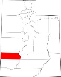 file map of utah highlighting beaver county svg wikimedia commons