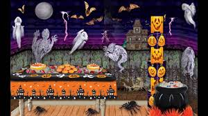 Halloween Party Room Decoration Ideas Creative Party Decorating Ideas On A Budget Youtube
