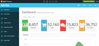 27 free dashboard templates creative tim u0027s blog