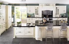 Small Kitchen Layout Ideas by Silver Wooden Nature Varnished Dining Table Neutral Kitchen With
