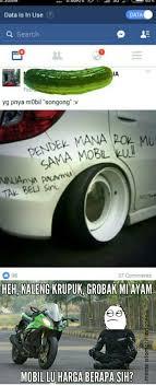 Meme Mobil - kalimat provokatif memang membuat orang lain menjadi geram heyy