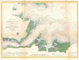 Virginia Rivers Map by File 1857 U S Coast Survey Map Or Chart Of The Entrance To The