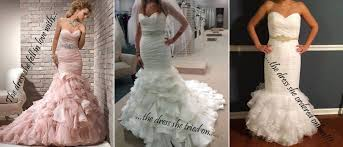 wedding dresses buy online ads vs reality angry brides shared their before and after buying