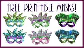 mardi gras masks pictures host a mardi gras party recipes free printable masks pizzazzerie