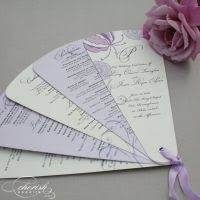 petal fan wedding programs intricate lace design wedding program fans petal fan programs