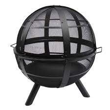 Char Broil Outdoor Patio Fireplace by Landmann Usa Ball Of Fire Outdoor Patio Steel Bowl Fire Pit With