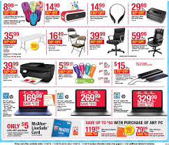 black friday 2016 office depot officemax ad scan