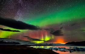 when are the northern lights visible in iceland photographer captures northern lights milky way and erupting