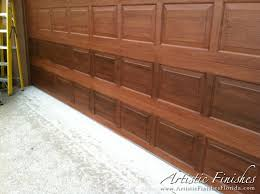 Faux Paint Garage Door - faux finish garage doors in west palm beach artistic finishes