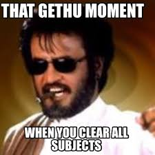 Clear Meme - meme maker that gethu moment when you clear all subjects