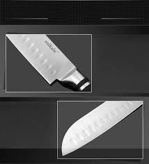 chef kitchen knives mikala stainless steel kitchen santoku knife chef slicing knives