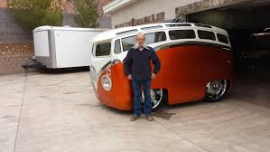 volkswagen van wheels builder don berry u0027s u201csurf seeker u201d radical hand built vw bus the