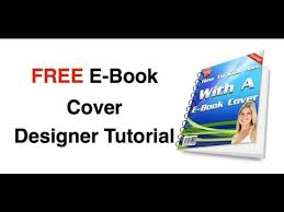 free ebook cover maker design your own ebook cover youtube