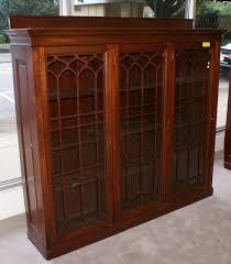 antique bookcase mahogany bookcases