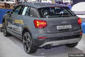 volkswagen thailand bangkok 2017 audi q2 launched new thai distributor