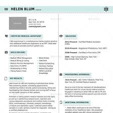 Cma Resume Sample by 9 Best Best Doctor And Nurse Resume Templates Pdf Word Images On
