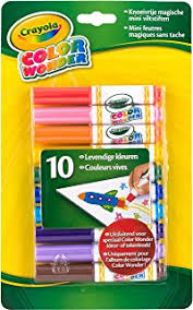 amazon com crayola color wonder mess free fingerpaints and paper