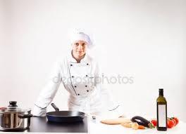 chef de cuisine femme femme chef de cuisine dans la cuisine photographie odua 66378865