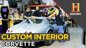 Custom Corvette Interior Corvette Conversation Custom Interior Counting Cars Youtube