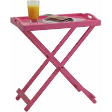 Pink Table L Convenience Concepts Designs2go Folding Tray Table