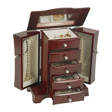 Dresser Top Jewelry Armoire Jewelry Holders Cases All Fine Jewelry For Jewelry U0026 Watches