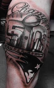patriots fan gets tattoo declaring super bowl win kxan com