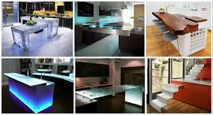 unusual kitchen islands if you are planning on turning your kitchen into a unique place
