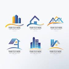 logo designer kostenlos immobilien logos sammlung der kostenlosen vektor