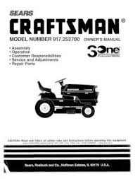 craftsman model 917252700 wiring diagram wiring diagram simonand