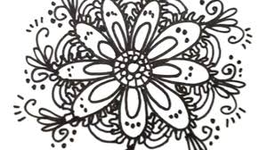 simple flower design drawings how to draw cool designs draw flower