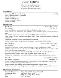 best template for resume 10 resume templates free word pdf sle