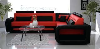 canap d angle bi couleur canape et noir le coussin de canapac et noir de