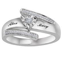 heart ring promise rings