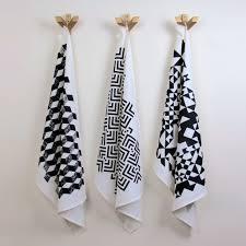 taormina tea towel modern geometric home decor savannah hayes