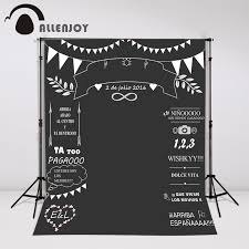 photo booth background aliexpress buy allenjoy custom wedding blackboard name date