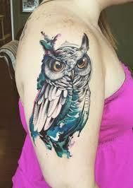 tattoo girl owl 4 beautiful owl tattoos