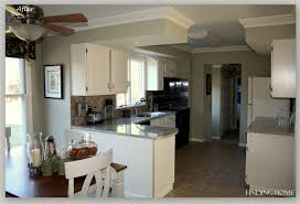 How To Antique Kitchen Cabinets by How To Paint White For Kitchen Color Ideas With Oak Cabinets