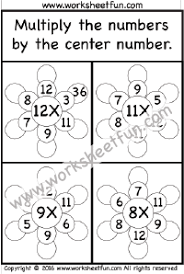 multiplication free printable worksheets u2013 worksheetfun