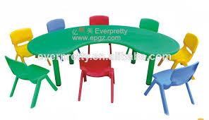 bureau plastique enfant chaises de bureau d âge préscolaire les enfants de table en