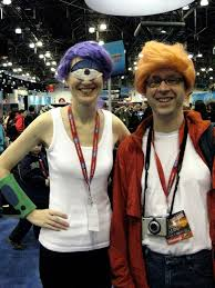 Best Costumes Handmade Leela Eye And Fry One Of The Best Costumes Of Th U2026 Flickr