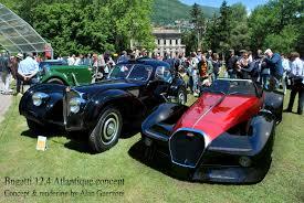 bugatti concept bugatti 12 4 atlantic concept retour vers le futur