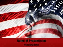 flag of the united states of america powerpoint templates flag