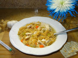 get well soon soup garlic and chicken soup get well soon soup