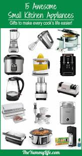 small appliances for small kitchens simple best kitchen appliances list 10103